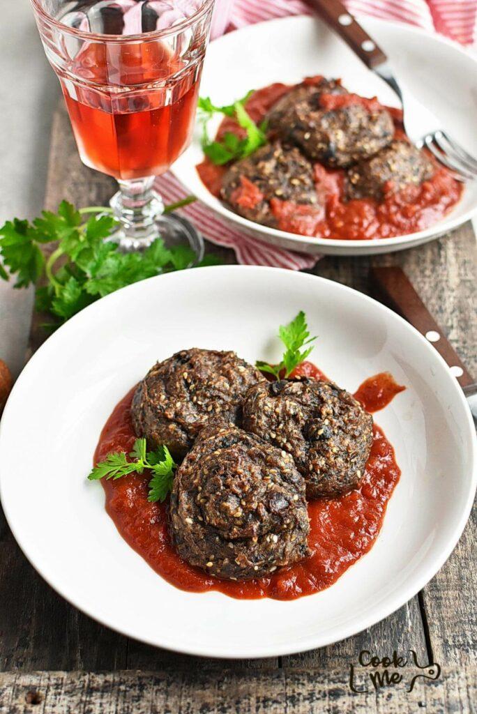Keto Eggplant Meatballs