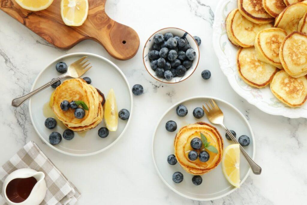How to serve Lemon Ricotta Pancakes