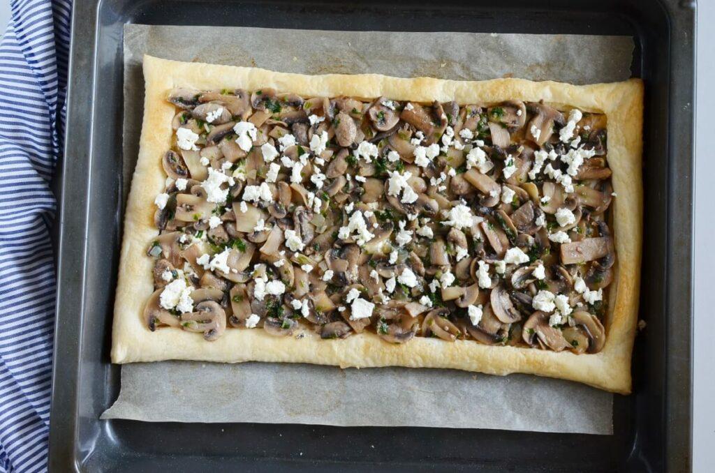 Mushroom Tart with Puff Pastry recipe - step 8