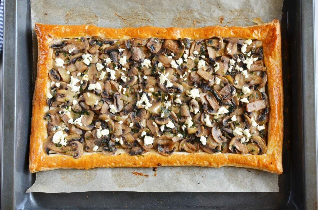 Mushroom Tart with Puff Pastry recipe - step 10