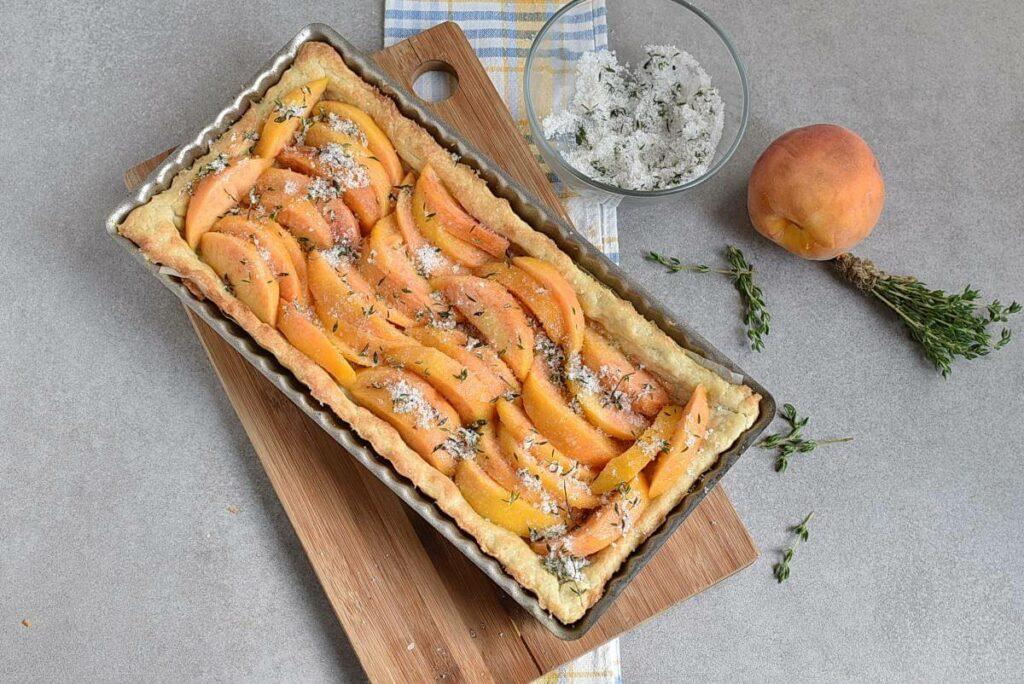 Peach Tart with Thyme Sugar recipe - step 8