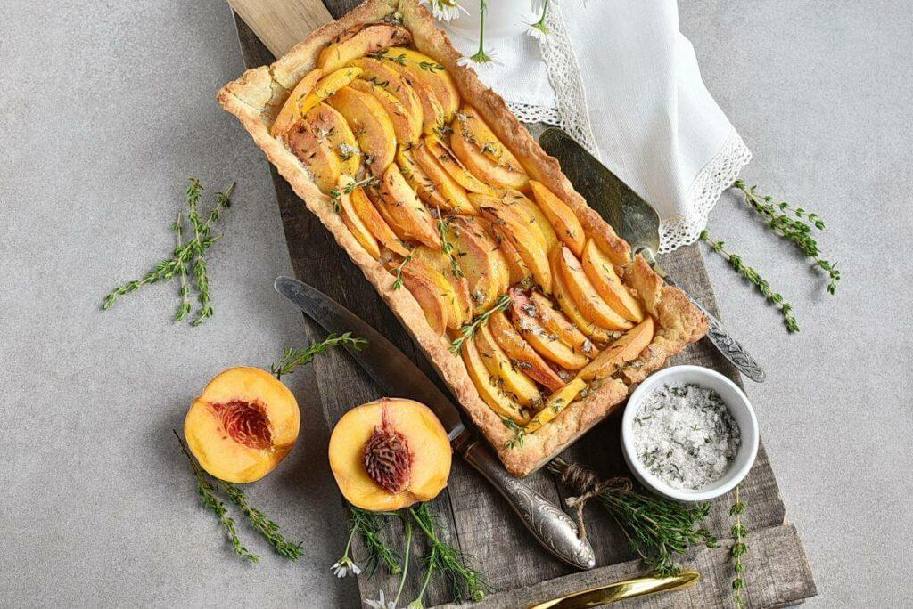 Peach Tart with Thyme Sugar recipe - step 10