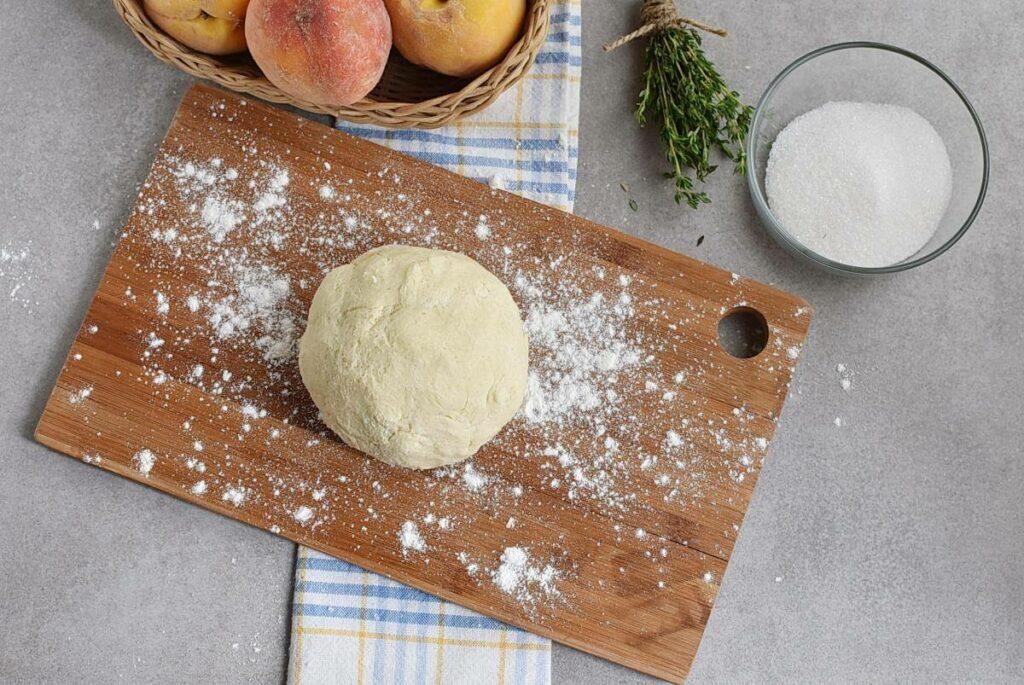Peach Tart with Thyme Sugar recipe - step 2