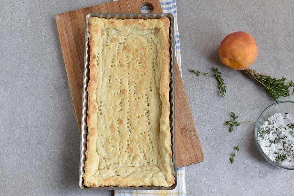 Peach Tart with Thyme Sugar recipe - step 6