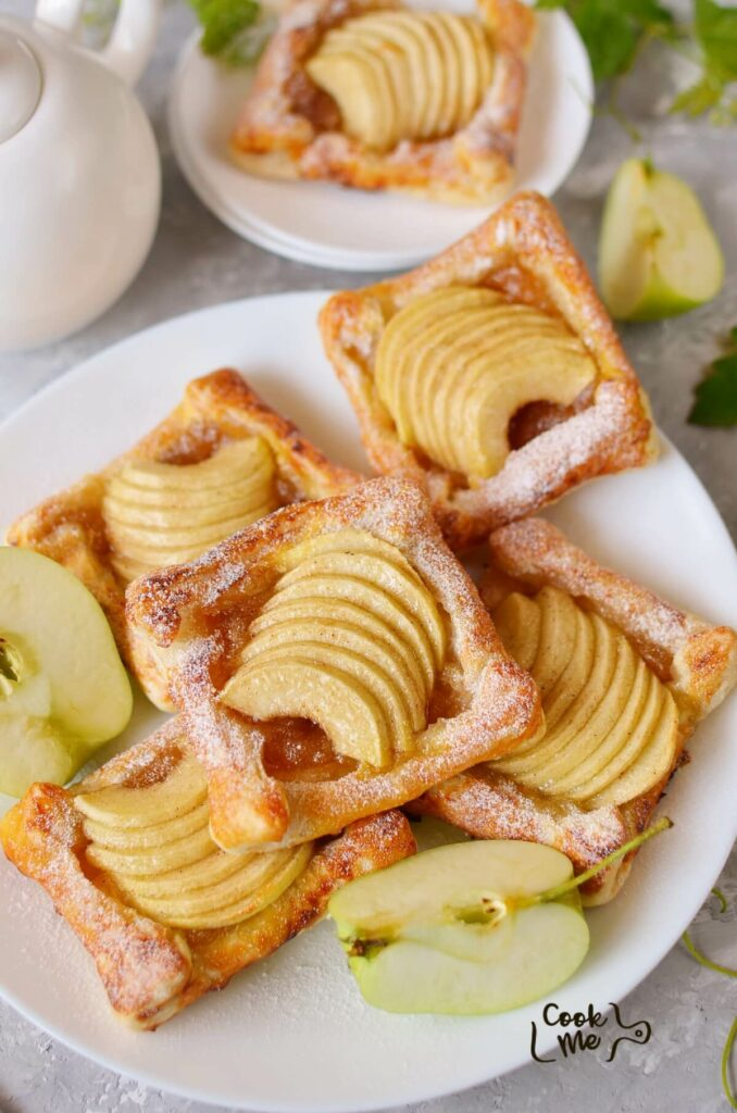 Puff Pastry Apple Tartlets