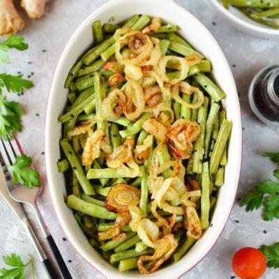 Sesame-Ginger Green Beans Recipe-How To Make Sesame-Ginger Green Beans-Delicious Sesame-Ginger Green Beans