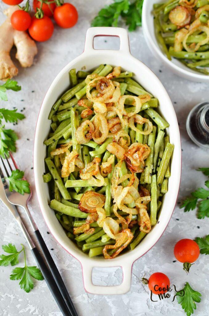 Sesame-Ginger Green Beans