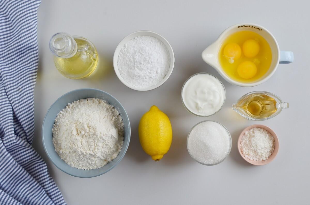 Ingridiens for Starbucks Lemon Loaf Copycat