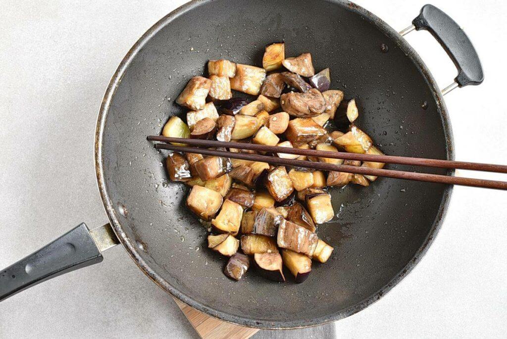 The Best Quick Vegan Sticky Aubergine recipe - step 4