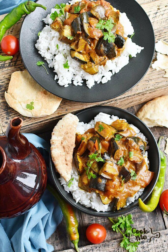Vegan Roasted Eggplant Curry