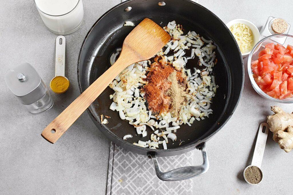 Vegan Roasted Eggplant Curry recipe - step 5
