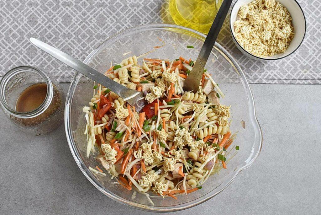 Asian Chicken Crunch Pasta Salad recipe - step 3