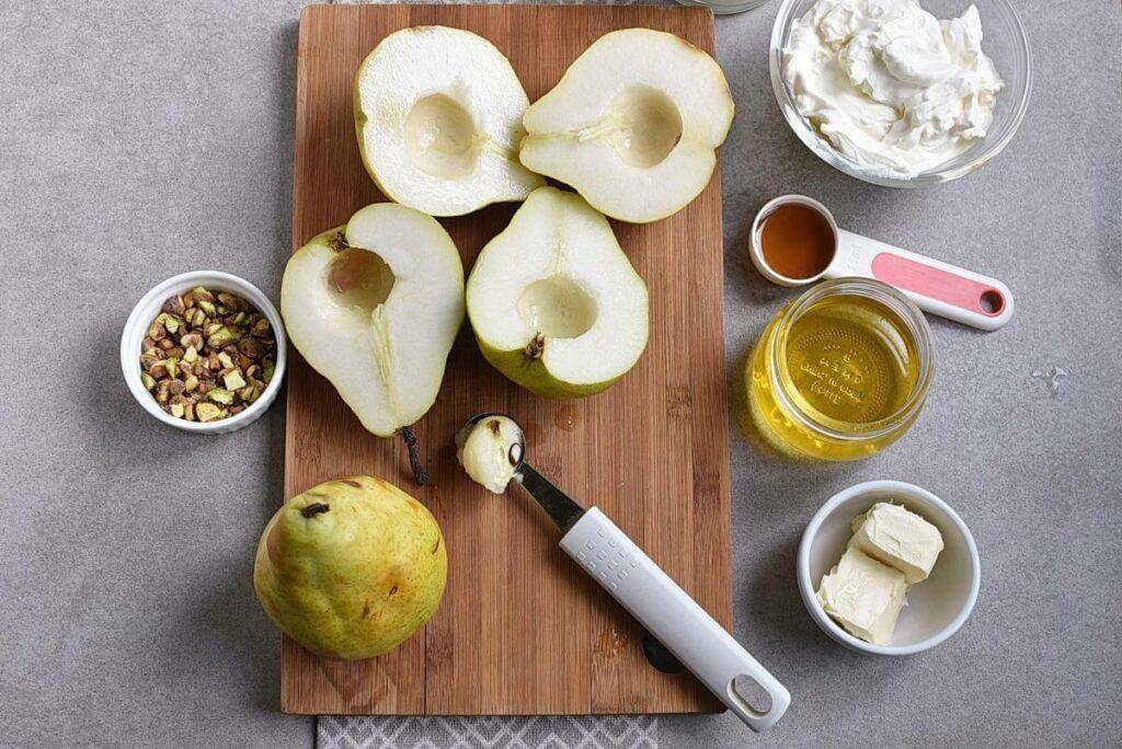 Gluten Free Baked Pears recipe - step 2