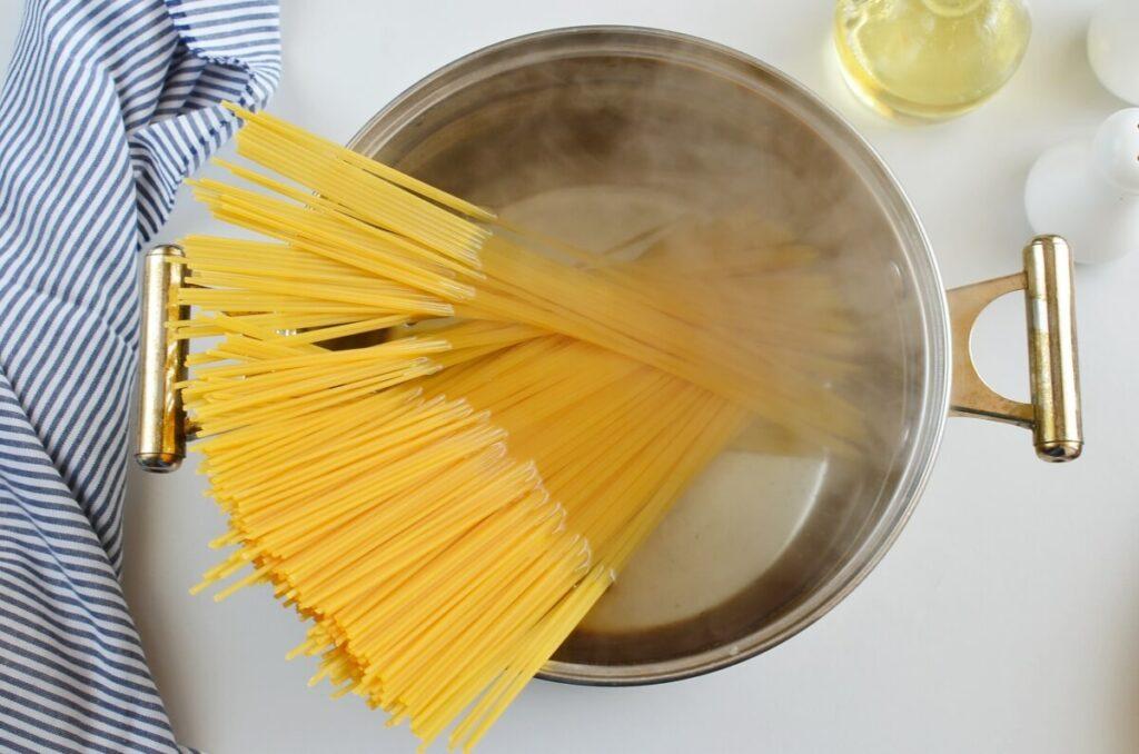 Butternut Squash, Spinach and Walnut Spaghetti recipe - step 4