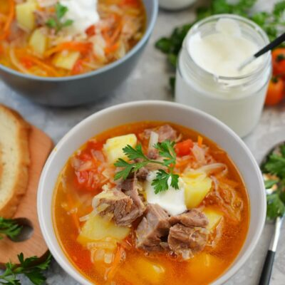 Cabbage Beef Soup Recipe-How To Make Cabbage Beef Soup-Delicious Cabbage Beef Soup