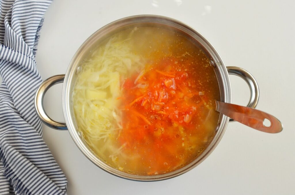 Cabbage Beef Soup recipe - step 6