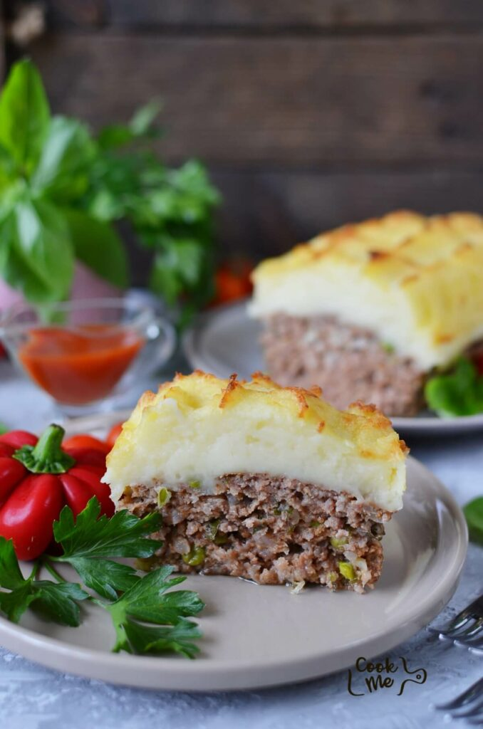 Cheesy Mash-Topped Meatloaf