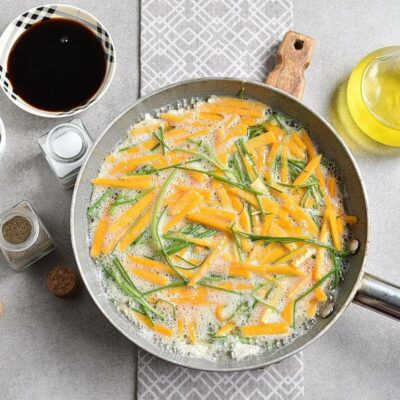 Chinese-Style Pumpkin Omelet recipe - step 3