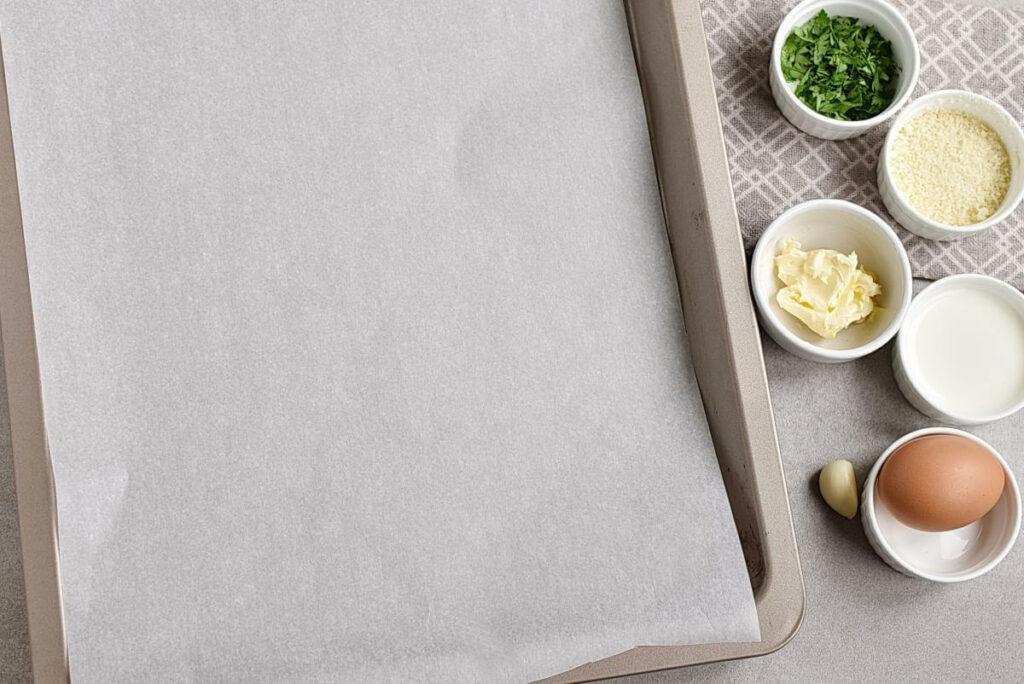 Keto Garlic Bread recipe - step 1
