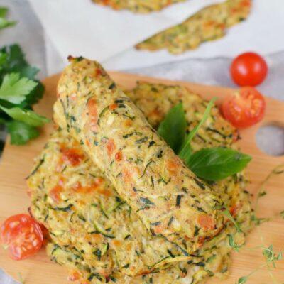 Keto Zucchini Tortillas Recipe-How To Make Keto Zucchini Tortillas-Delicious Keto Zucchini Tortillas