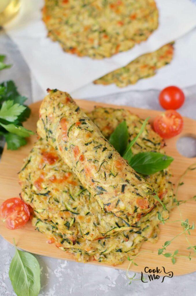 Keto Zucchini Tortillas