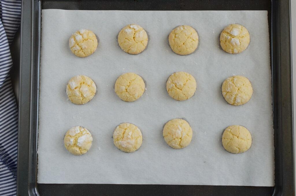 Lemon Crinkle Cookies recipe - step 9