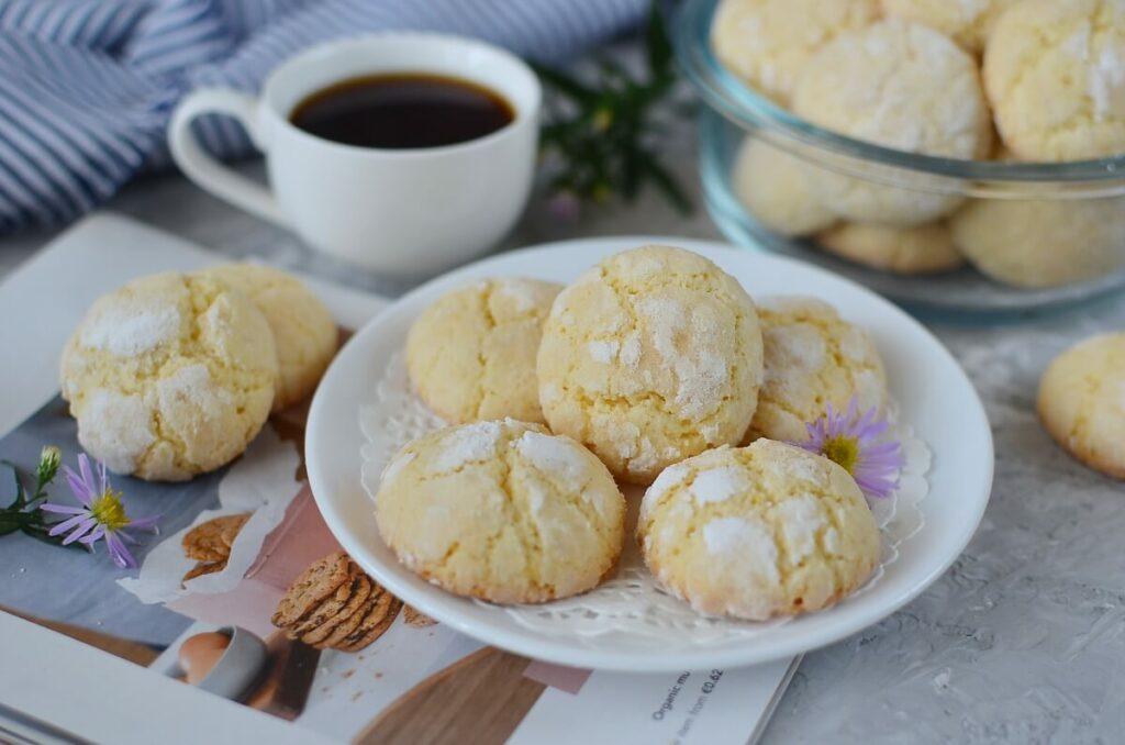 How to serve Lemon Crinkle Cookies