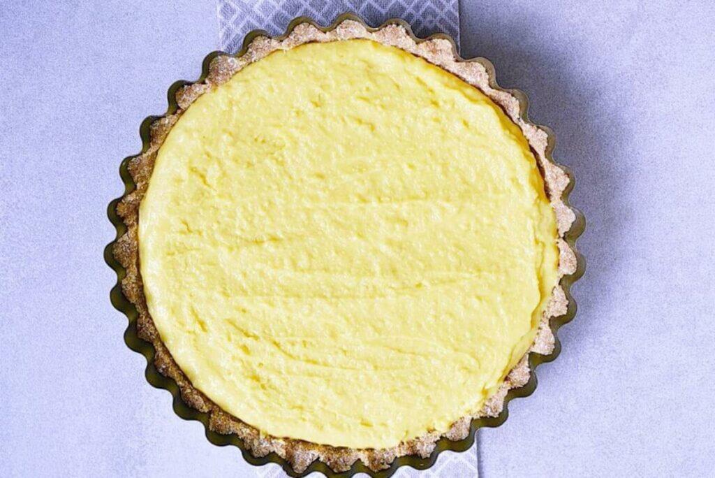 No-Bake Peach and Mango Tart recipe - step 7