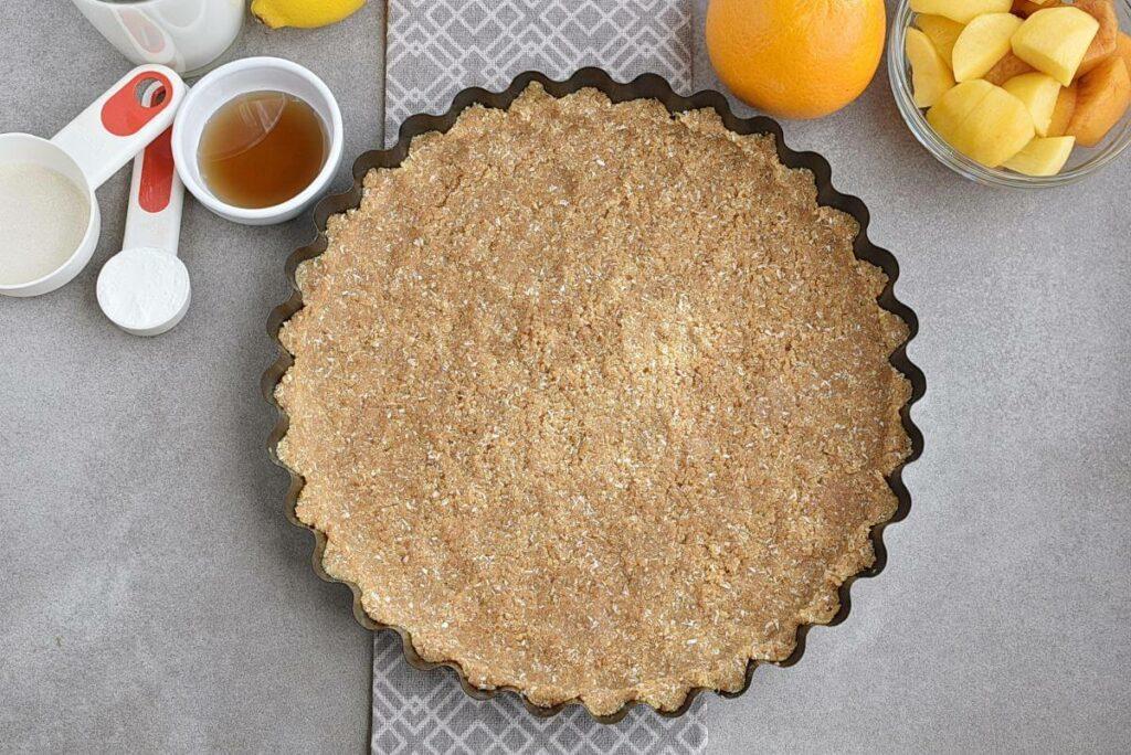 No-Bake Peach and Mango Tart recipe - step 3