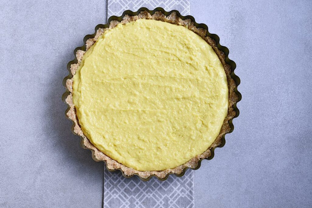 No-Bake Peach and Mango Tart recipe - step 6