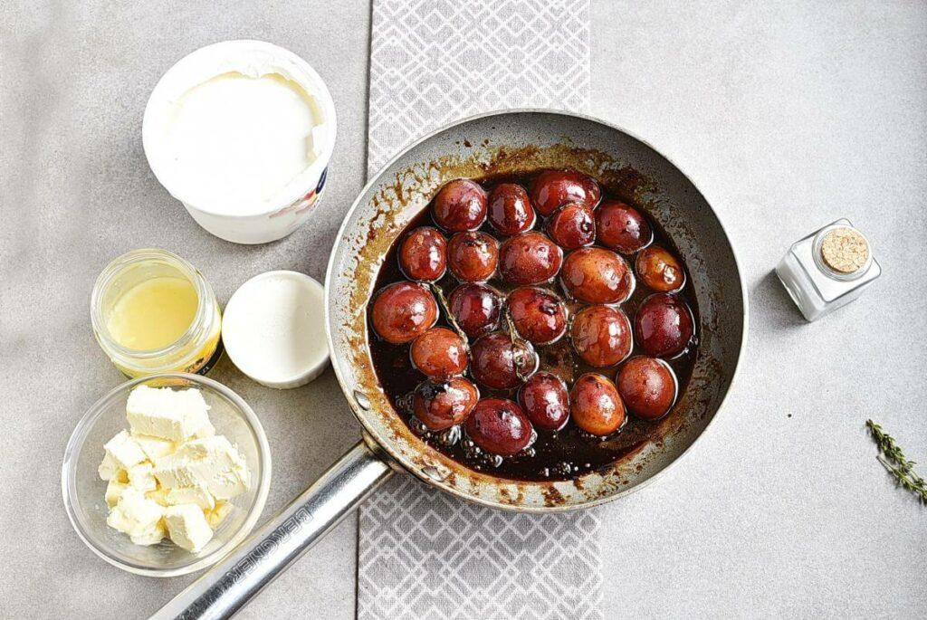 No-Bake Plum Tart with Mascarpone recipe - step 4