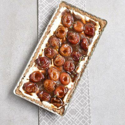 No-Bake Plum Tart with Mascarpone recipe - step 6