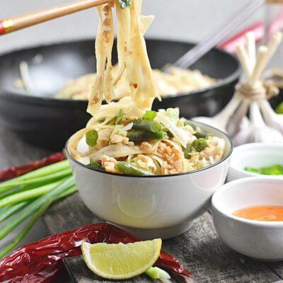 Noodles with Turkey, Green Beans and Hoisin Recipes– Homemade Noodles with Turkey, Green Beans and Hoisin–Easy Noodles with Turkey, Green Beans and Hoisin