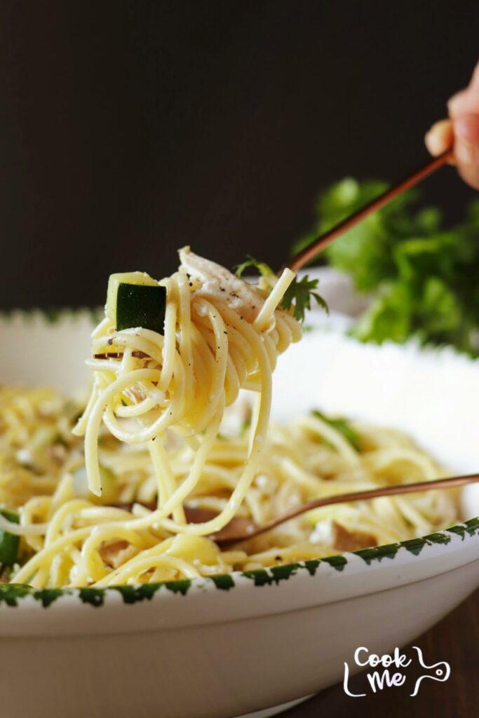 Pasta with Zucchini