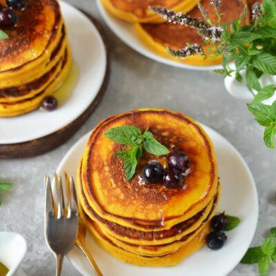 Pumpkin Pancakes Recipe-How To Make Pumpkin Pancakes-Delicious Pumpkin Pancakes