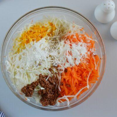 Vegan Cabbage Fritters recipe - step 3