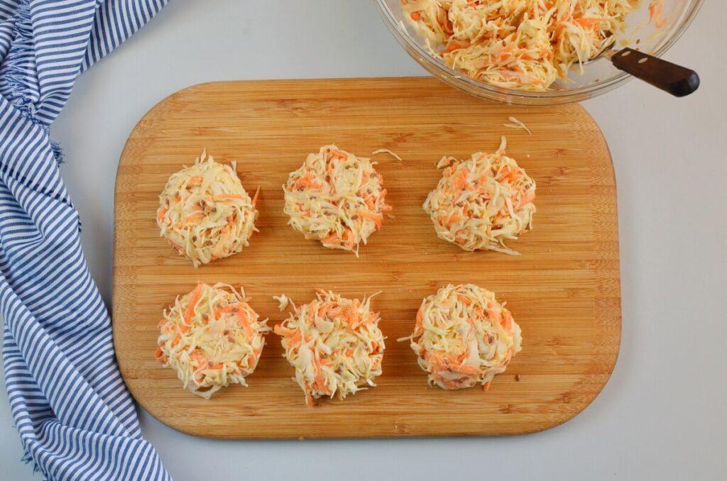Vegan Cabbage Fritters recipe - step 4