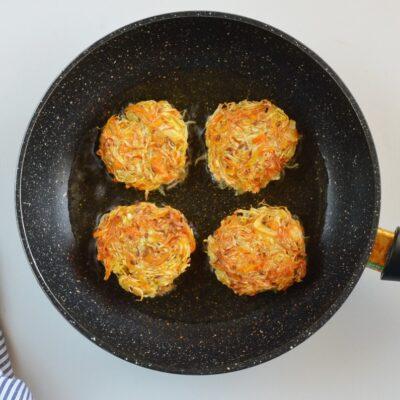 Vegan Cabbage Fritters recipe - step 5