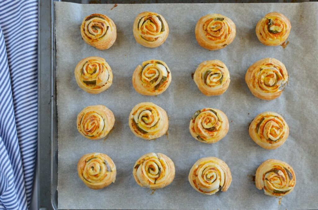 Vegan Pumpkin Basil Pinwheels recipe - step 5