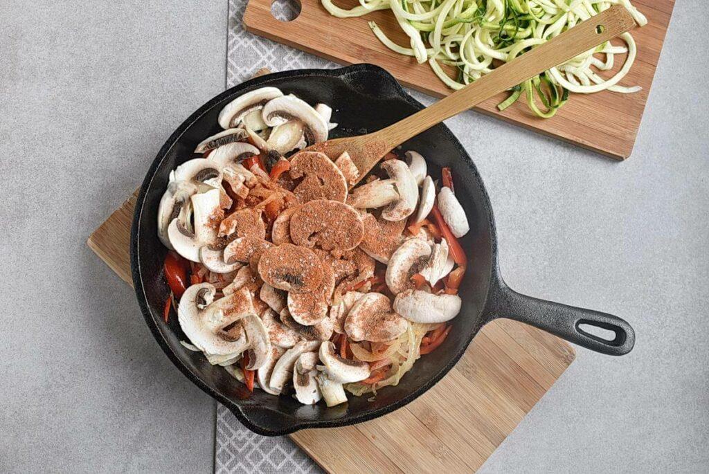 Veggie Fajita Zoodles recipe - step 6