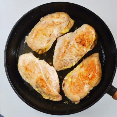 Bacon Mushroom Stuffed Chicken recipe - step 6