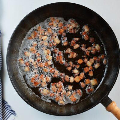 Bacon Mushroom Stuffed Chicken recipe - step 2