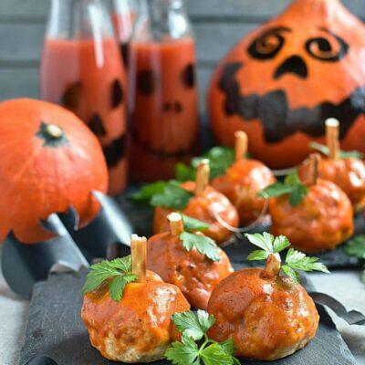 Buffalo Meatball Pumpkins Recipes– Homemade Buffalo Meatball Pumpkins–Easy Buffalo Meatball Pumpkins