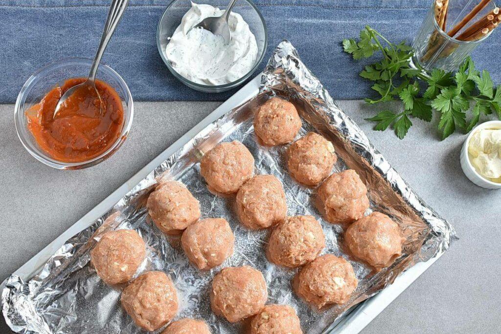 Buffalo Meatball Pumpkins recipe - step 3