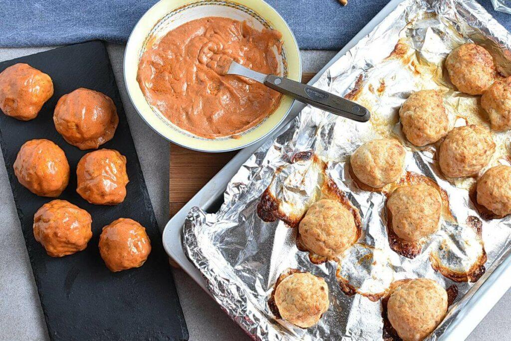 Buffalo Meatball Pumpkins recipe - step 6