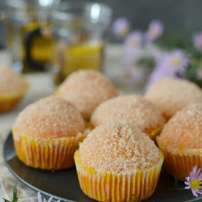 French Breakfast Muffins Recipe-How To Make French Breakfast Muffins-Delicious French Breakfast Muffins