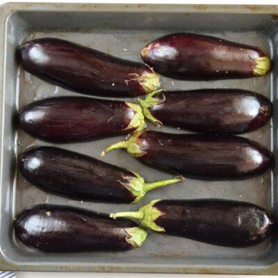 Mushroom-Stuffed Eggplant recipe - step 3