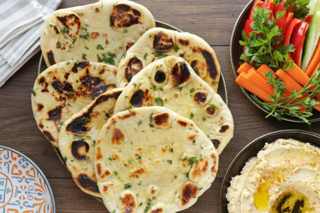 How to serve Naan Bread
