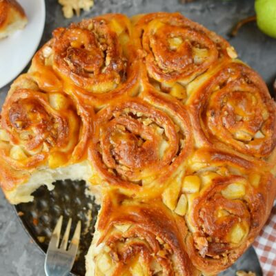 Pear Breakfast Buns Recipe-How To Make Pear Breakfast Buns-Delicious Pear Breakfast Buns