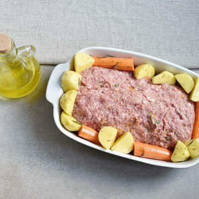 Pumpkin & Cheese Stuffed Meatloaf recipe - step 4